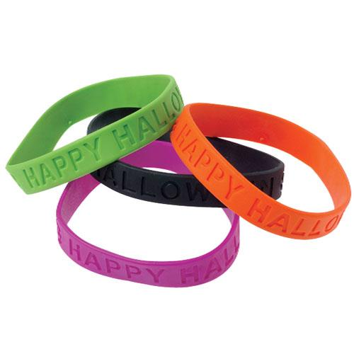 Halloween Spookier With Customized Wristbands