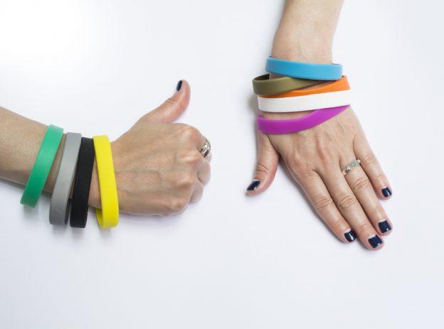 new rubber bracelet