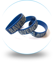 ¾ Inch Wristbands